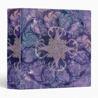 Pretty Lavender Tribal Celtic Design Binder