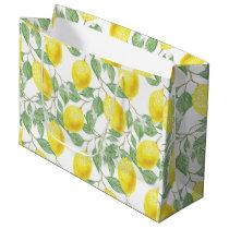 Pretty Lemon Pattern Gift Bag
