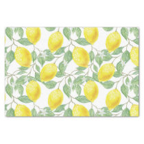 Pretty Lemon Pattern Tissue / Craft Paper