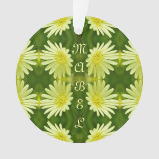 Pretty Lemon Yellow Daisy Flower Green Cute Nature