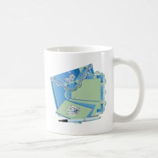 Pretty Letters to Friends Coffee Mug