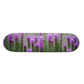 Pretty Liatris Skateboard Deck