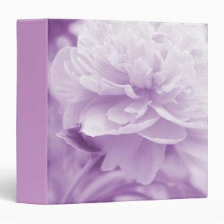 "Pretty Light Purple Peonies 1.5"" Photo Album 3 Ring Binders"