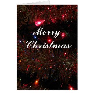 Pretty Lights Christmas card
