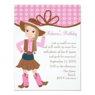 Pretty Lil' Cowgirl! Card