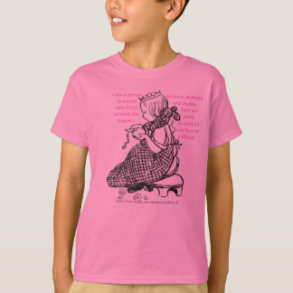 """""""Pretty Lil' Princess who helps around the house-S T-Shirt"""