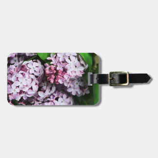 Pretty Lilac Bouquet Tags For Luggage
