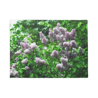 Pretty Lilac Bush Doormat