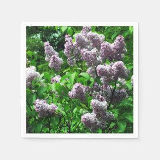 Pretty Lilac Bush Napkin