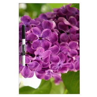 Pretty Lilac Dry Erase Board