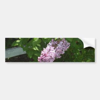Pretty Lilac Flower Bumper Sticker