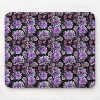 Pretty Lilac Roses Mouse Pad