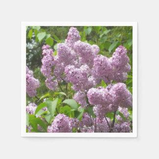 Pretty Lilacs Paper Napkin