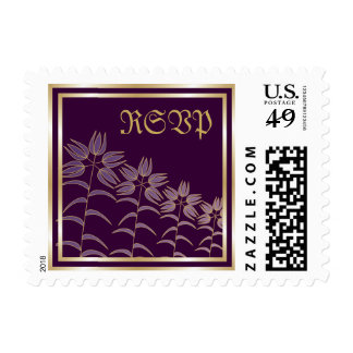 Pretty Lilies RSVP Stamps