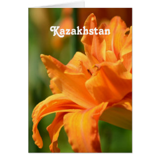 Pretty Lily Stationery Note Card
