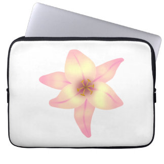 Pretty Lily Flower Computer Sleeves