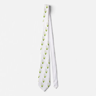 Pretty Lily of the Valley Neck Tie