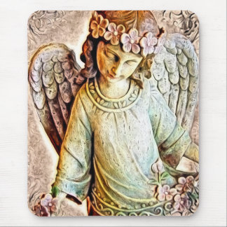 Pretty Little Angel Mouse Pad