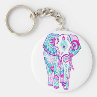 Pretty Little Beautiful Elephant Keychains