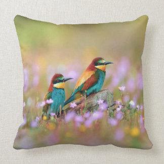 Pretty Little Birds Throw Pillow
