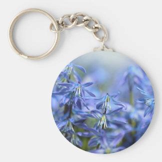 Pretty Little Blue Bells Keychain