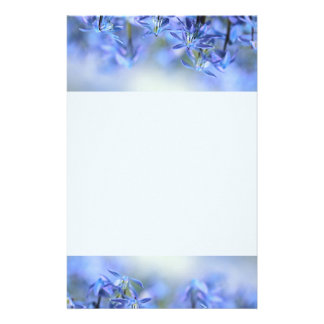 Pretty Little Blue Bells Stationery