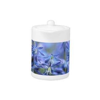 Pretty Little Blue Bells Teapot
