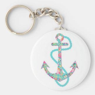 Pretty Little Boho Anchor Keychain