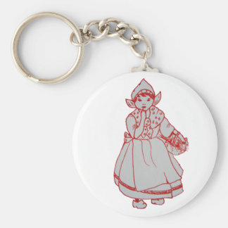 Pretty Little Dutch Girl - Keychain