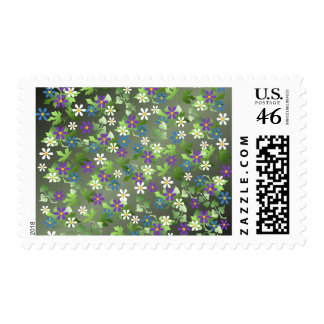 Pretty Little Flowers Postage Stamp