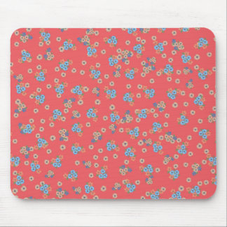 Pretty Little Garden Flowers Mouse Pad