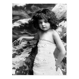 """Pretty Little Girl"" Vintage Photograph Postcard"