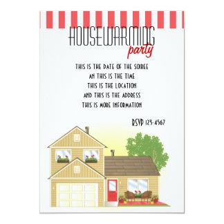 "Pretty Little House 5"" X 7"" Invitation Card"