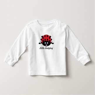 Pretty Little Ladybug Shirt for Toddler Girls