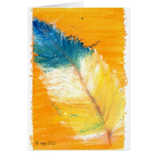 Pretty little leaf stationery note card