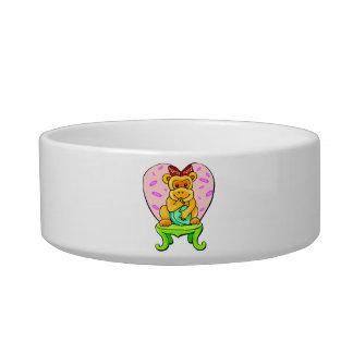 Pretty Little Love Monkey Bowl