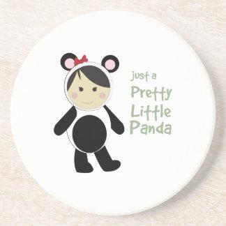 Pretty Little Panda Beverage Coaster