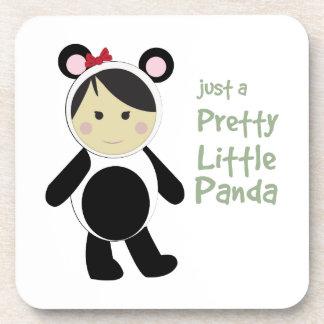 Pretty Little Panda Drink Coaster