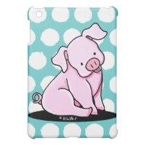 Pretty Little Piggie iPad Mini Cover