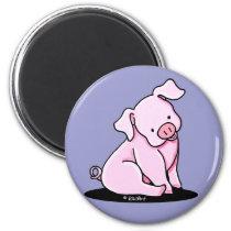 Pretty Little Piggie Magnet
