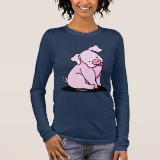 Pretty Little Piggy Long Sleeve T-Shirt