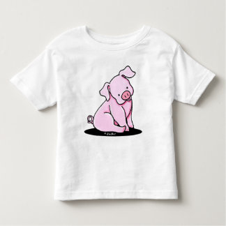 Pretty Little Piggy Toddler T-shirt