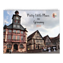 Pretty Little Places in Germany 2019 Calendar