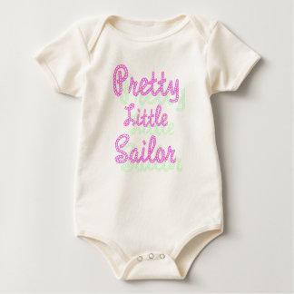 Pretty Little Sailor Organic Baby Bodysuit