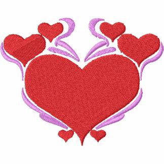 Pretty Love Hearts Pocket