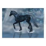Pretty magical Birthday Card with Unicorn