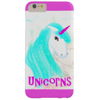 Pretty Magical Mythical Unicorn Graphic Barely There iPhone 6 Plus Case