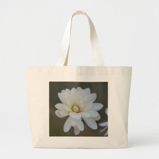 Pretty  Magnolia Centennial Bloom Canvas Bag