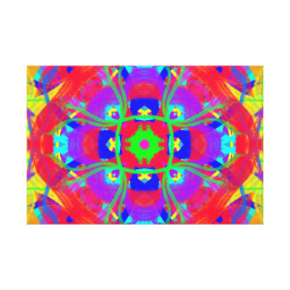 Pretty Mandala Healing Reiki Art Canvas Print