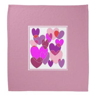 Pretty Many Hearts 1 Bandana